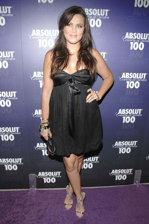 At theAbsolut 100 Official Concertafter-partyfor Kanye West at GOA in Hollywood.