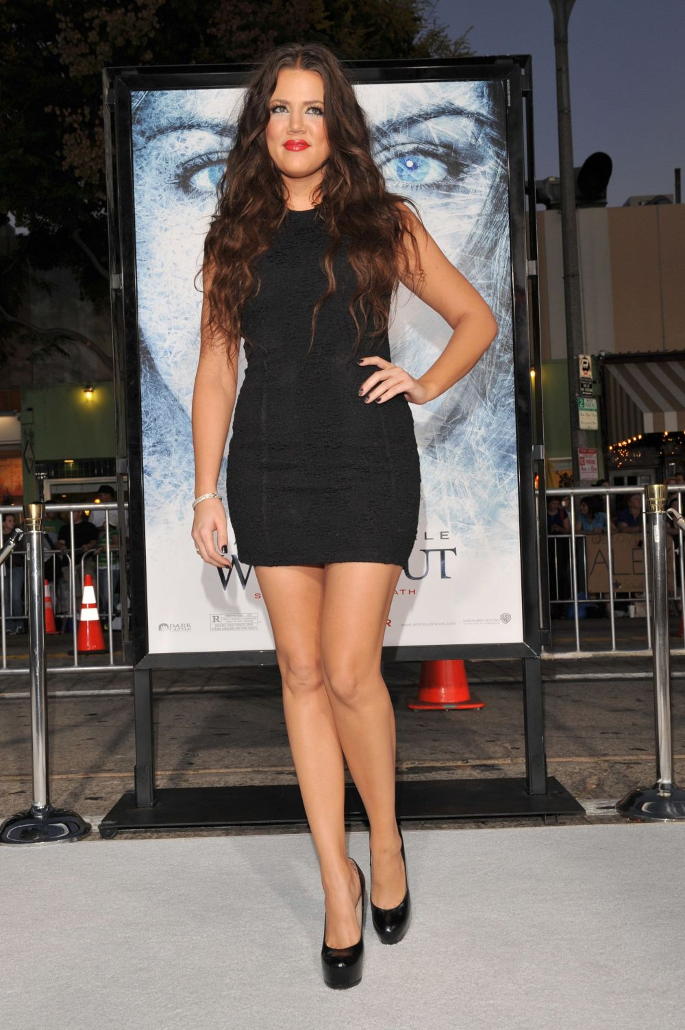 """On the the red carpetfor the Los Angeles premiere of """"Whiteout"""" at the Mann Village Theatre in Los Angeles."""