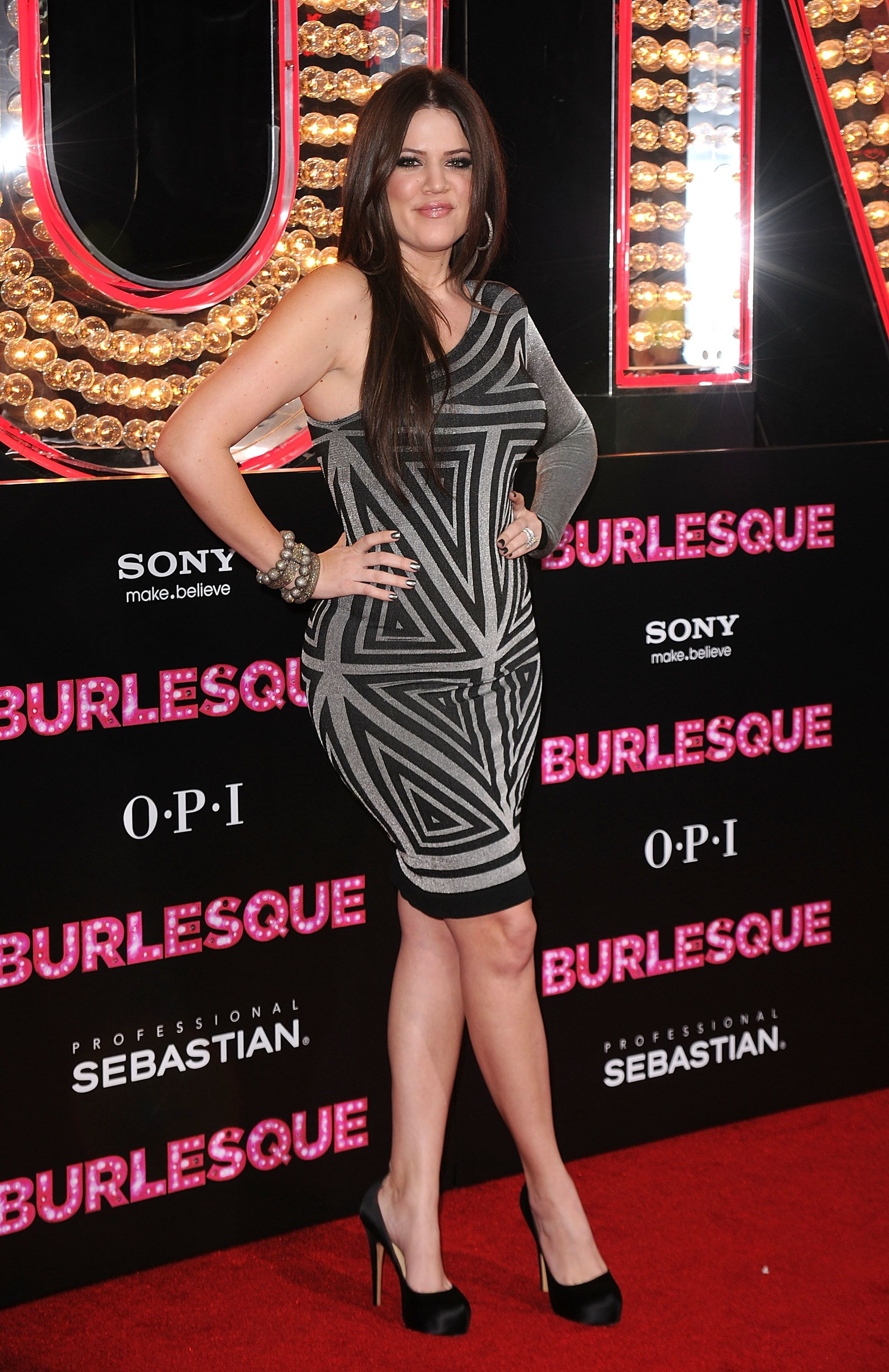 "At the premiere of Screen Gems' ""Burlesque"" at Grauman's Chinese Theatre in Los Angeles."