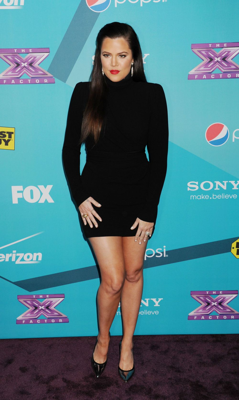 """At Fox's """"The X Factor"""" finalists' party at The Bazaar at the SLS Hotel Beverly Hills in Los Angeles."""