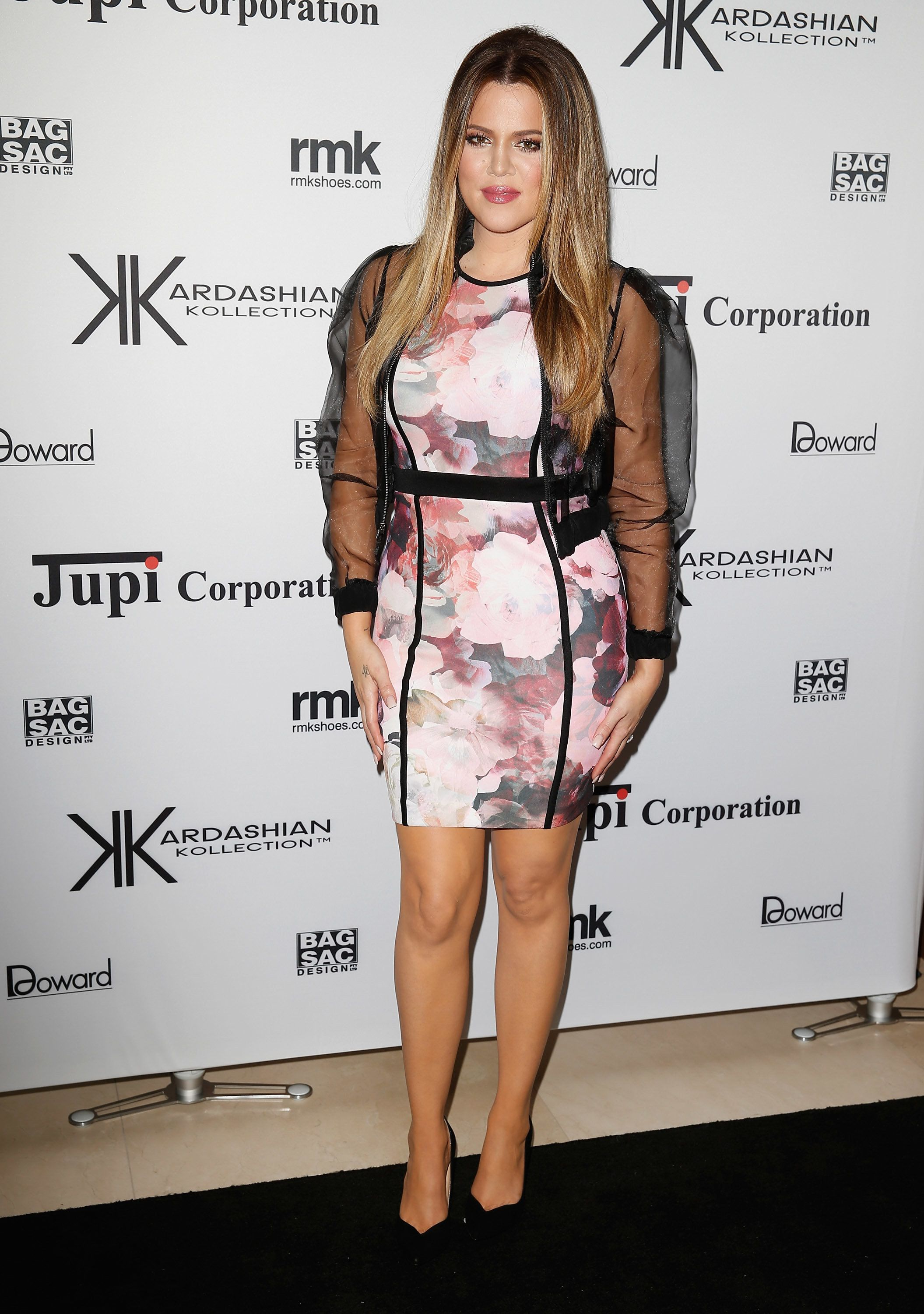 At the Kardashian Kollection cocktail party at the Park Hyatt Guest House in Sydney.
