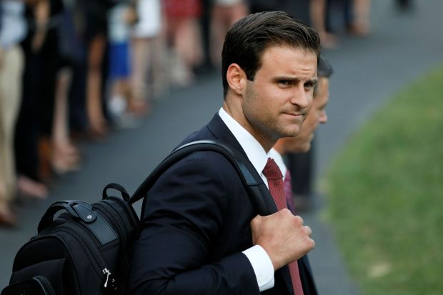 Donald Trump's personal aide John McEntee, who left the White House under a cloud, was paid $22,000 late last month, accordin