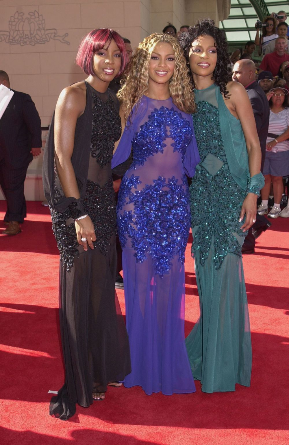 At the first annual BET Awards at the Paris Hotel and Casino in Las Vegas.