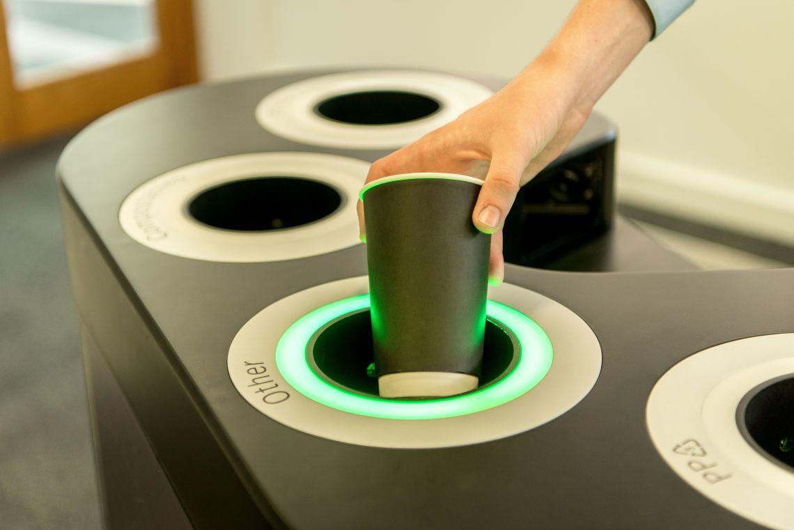 This Smart Bin Knows What Your Rubbish Is Made Of And Then Tells You Where To Put It