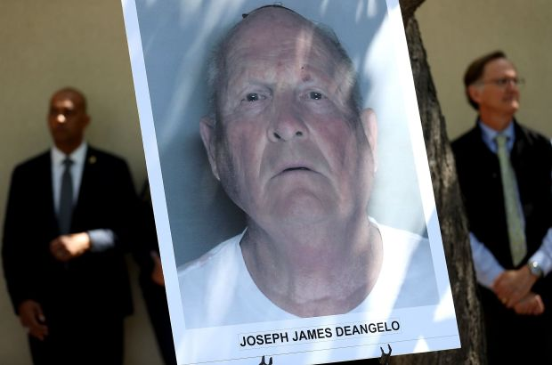 A photo of accused rapist and killer Joseph James DeAngelo.