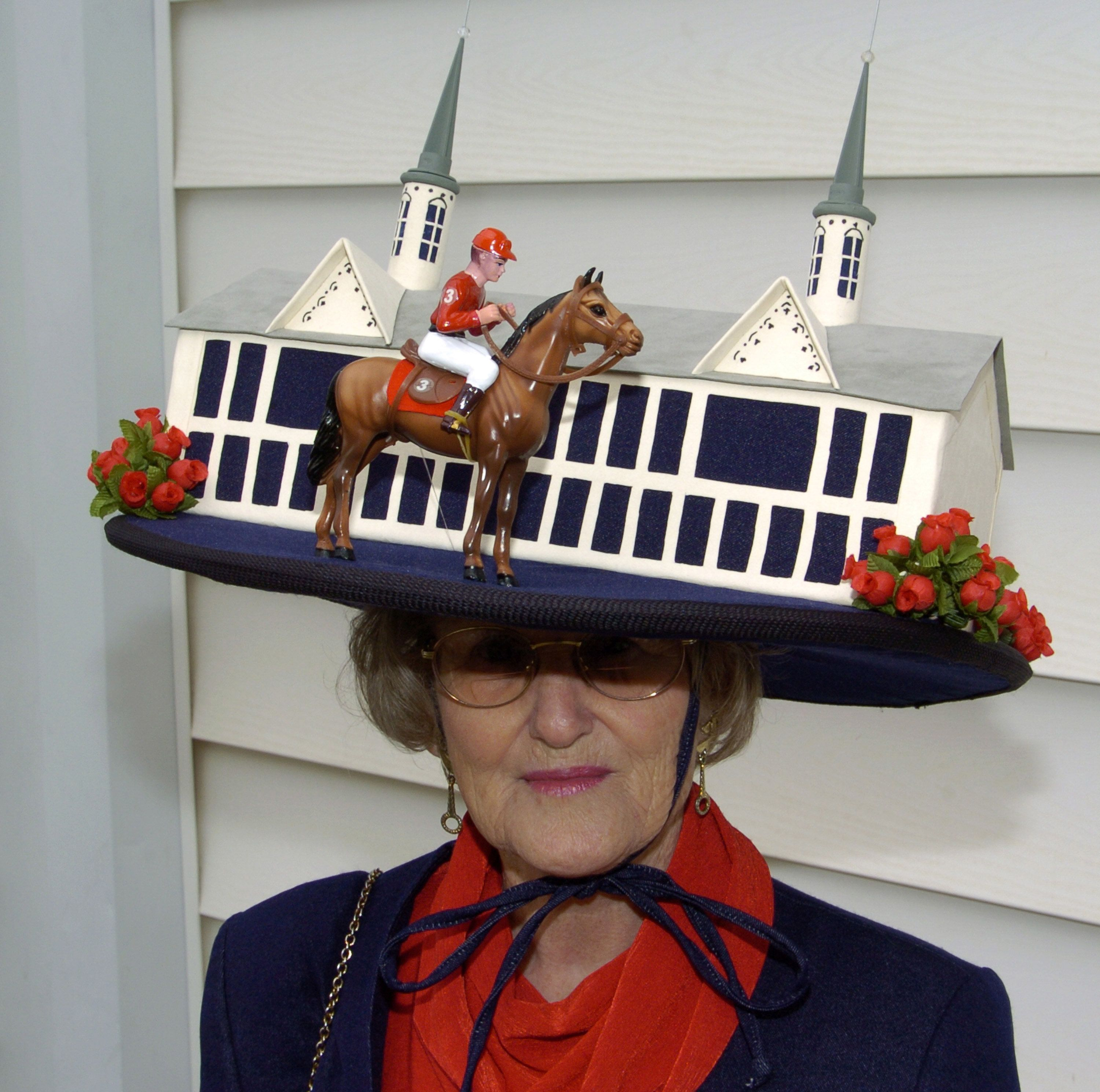 A derby hat from 2004.
