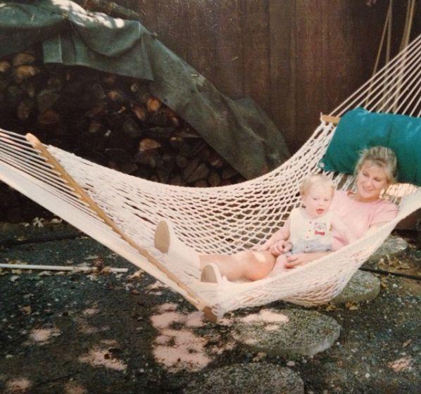 """Me and my mom, Marina Smith."" -- <i>Alex Whittingham</i>"