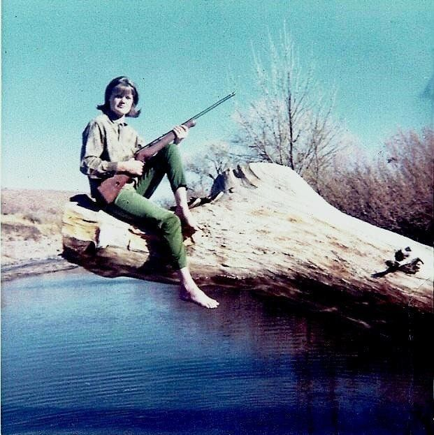 """""""The picture was taken of my mom, Karma Forney, somewhere in Casas Grandes, Mexico, in the late '60s. This is probably"""