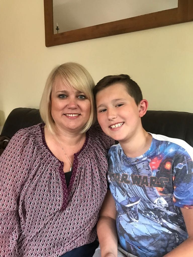 Emma Bishop from the West Midlands is worried about her son Thomas' future, as the deaf children's services he relies on have been cut.
