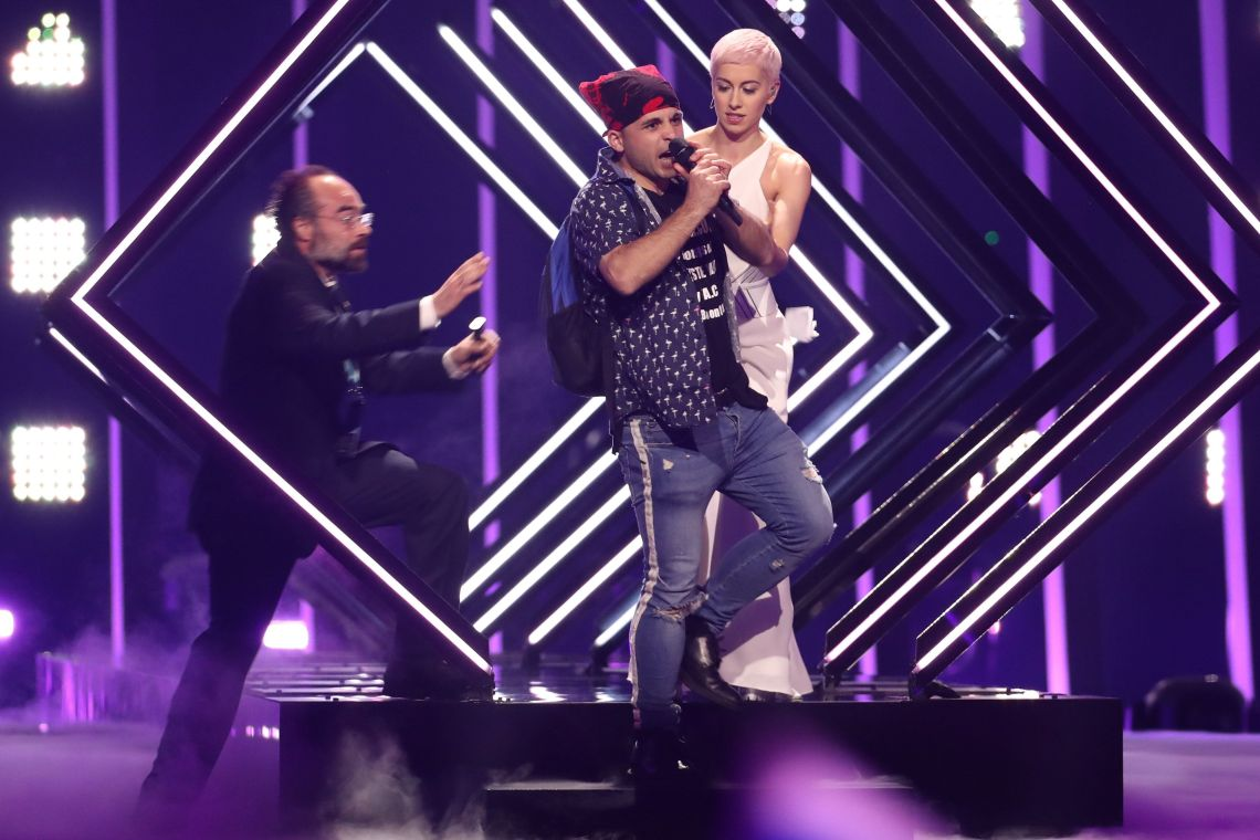 The moment that left Eurovision fans around the globe stunned