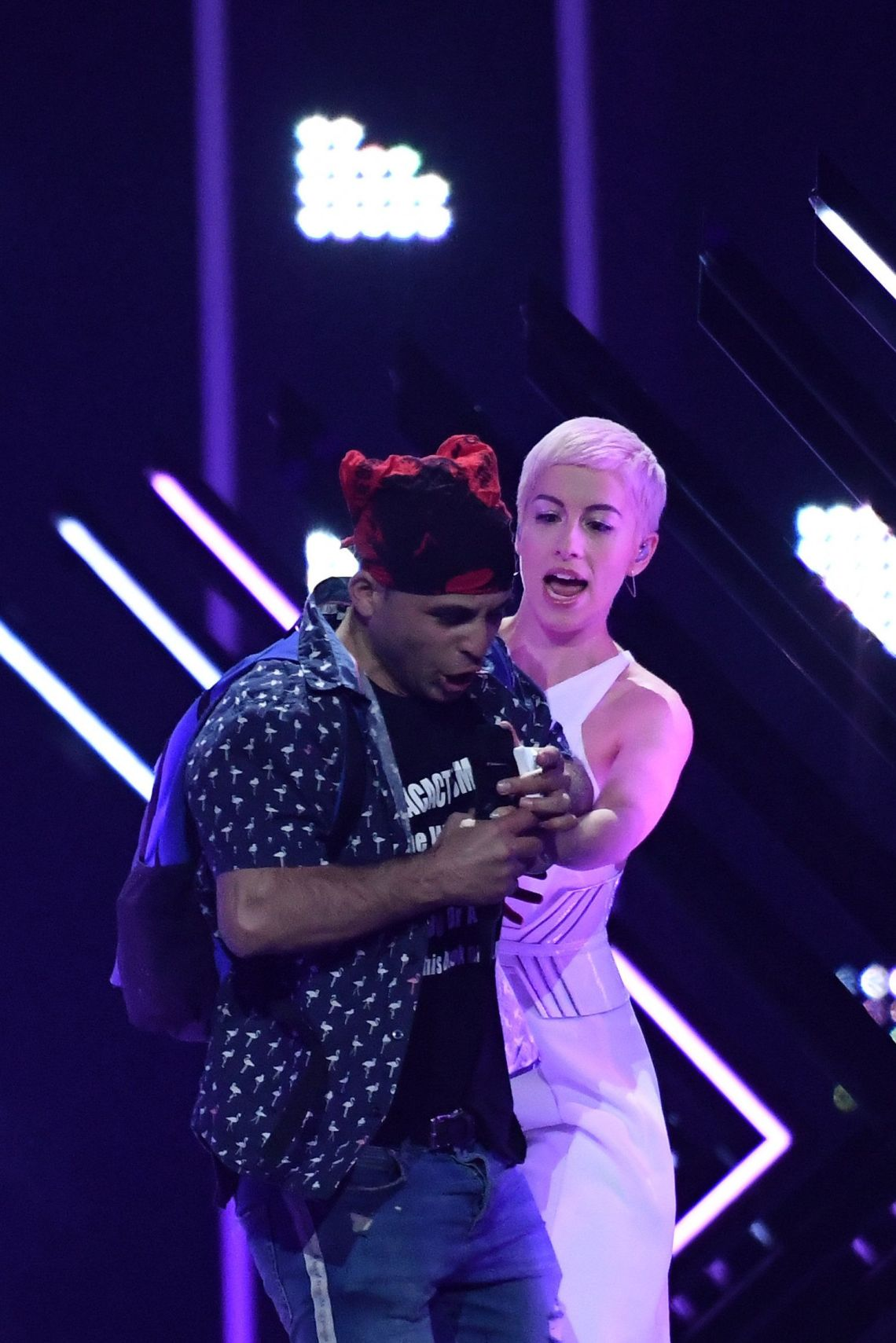 Eurovision Bosses Reveal How SuRie Stage Invasion Happened