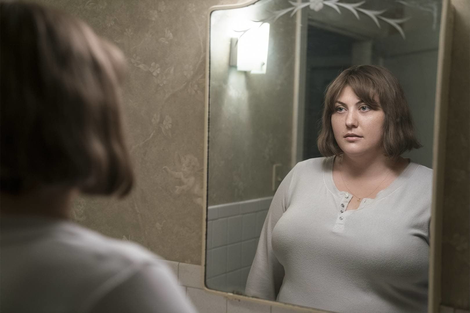 Joy Nash as Plum in AMC's TV adaptation of <i>Dietland.</i>