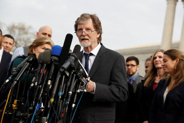 Baker Jack Phillips of Masterpiece Cakeshop won his right-to-refuse-service case before the U.S. Supreme Court earlier this w