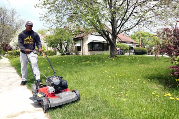 Rodney Smith founded theRaising Men Lawn Care Servicein 2016.