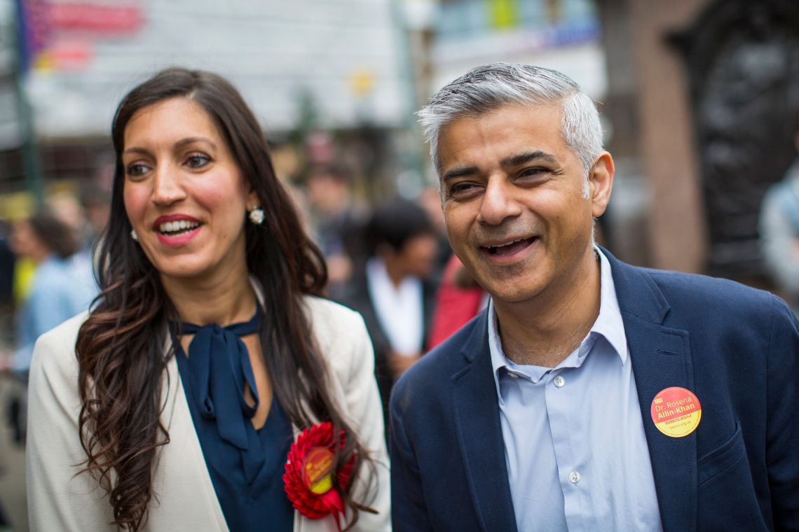Labour's shadow sports minister Rosena Allin-Khan (pictured with London mayor Sadiq Khan) backed the TUC's calls