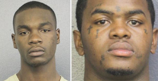 From left: Michael Boatwright, 22, and Dedrick Devonshay Williams, 22, are facing first-degree murder charges inlast mo