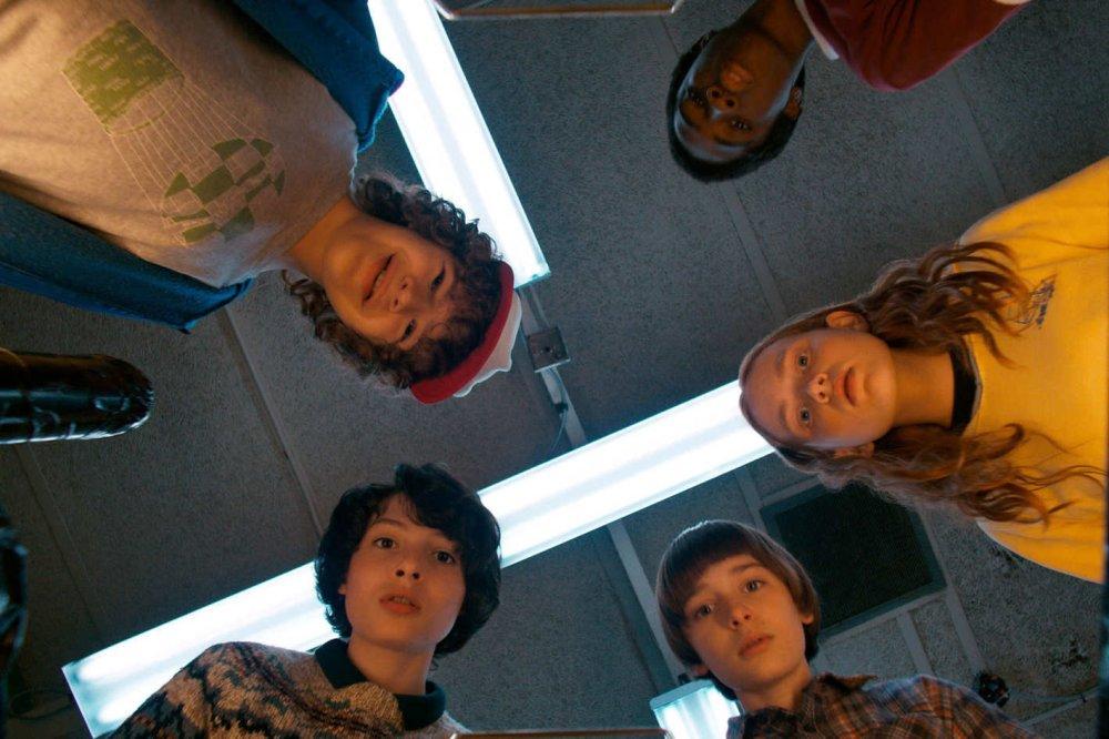 """The cast of """"Stranger Things."""""""