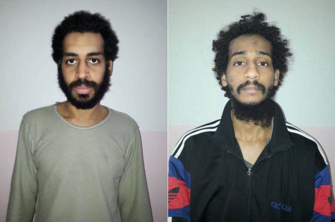 British-raised jihadists Alexanda Kotey and El Shafee Elsheikh