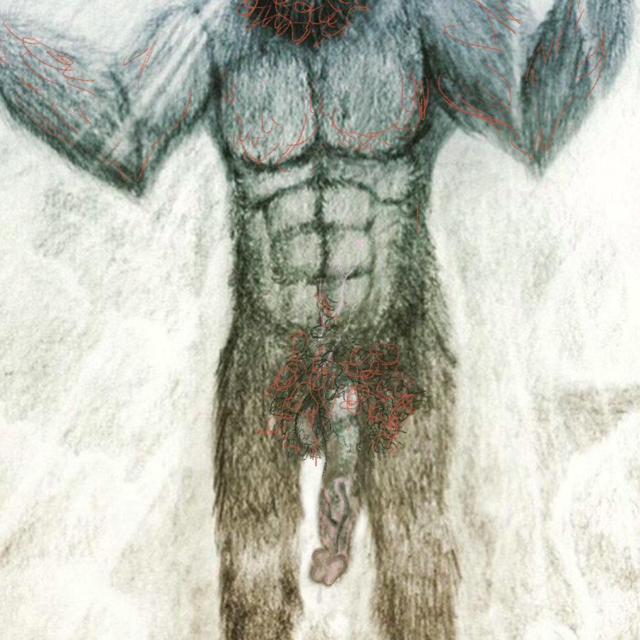 Bigfoot's penis, if Bigfoot was a ginger.