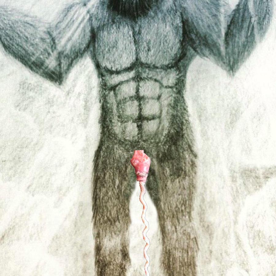Bigfoot's duck penis.