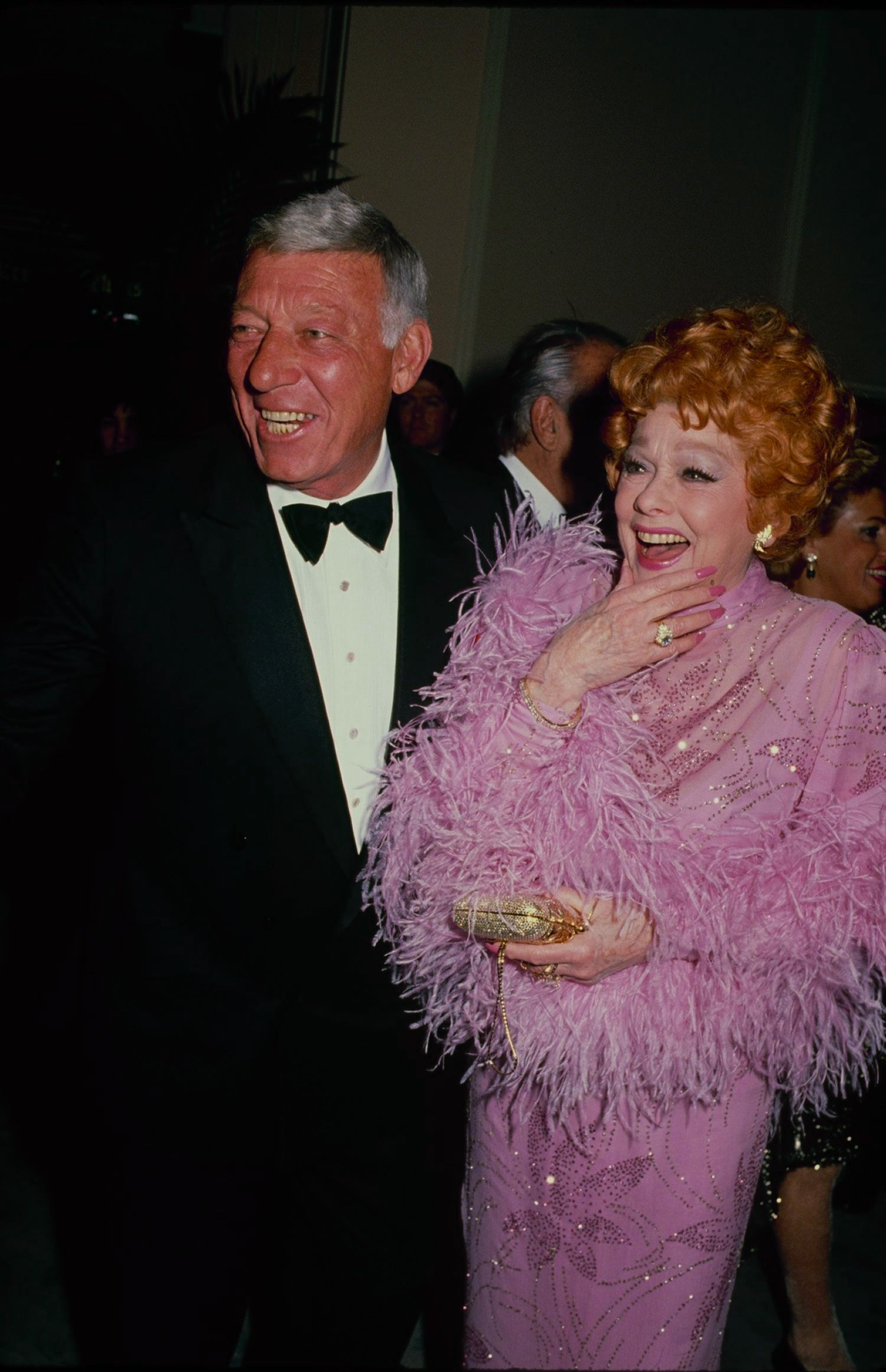 Ball and Morton at the American Cinema Awards in Los Angeles.