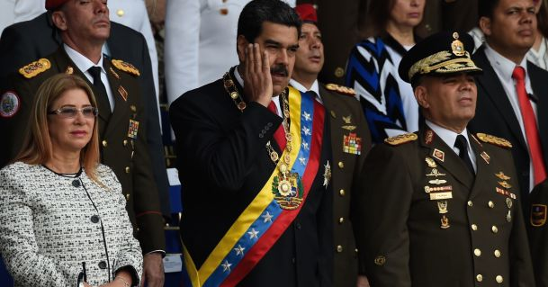 Image result for 'Assassination Bid' on Venezuelan Leader With Drones Carrying Explosive