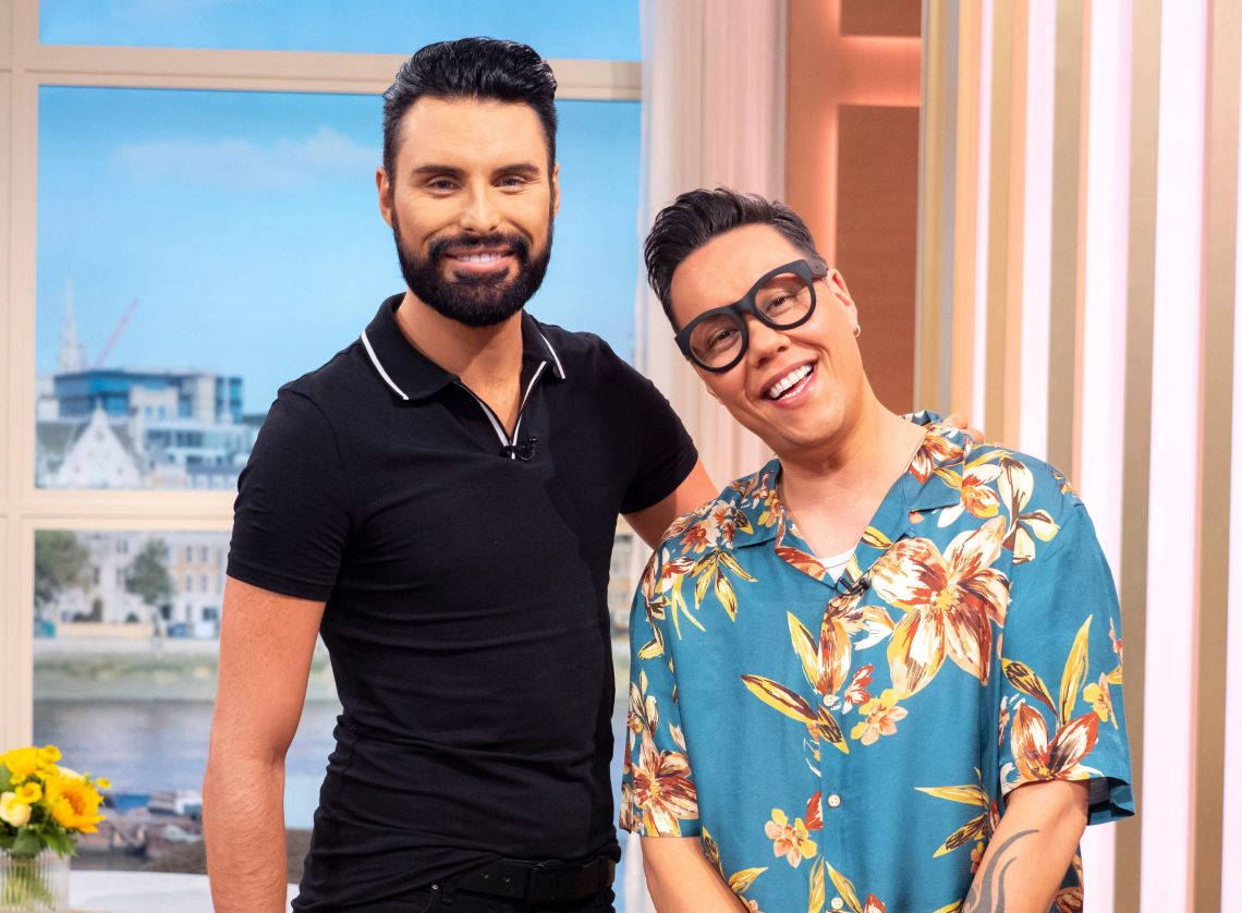 Rylan Clark-Neal and Gok Wan