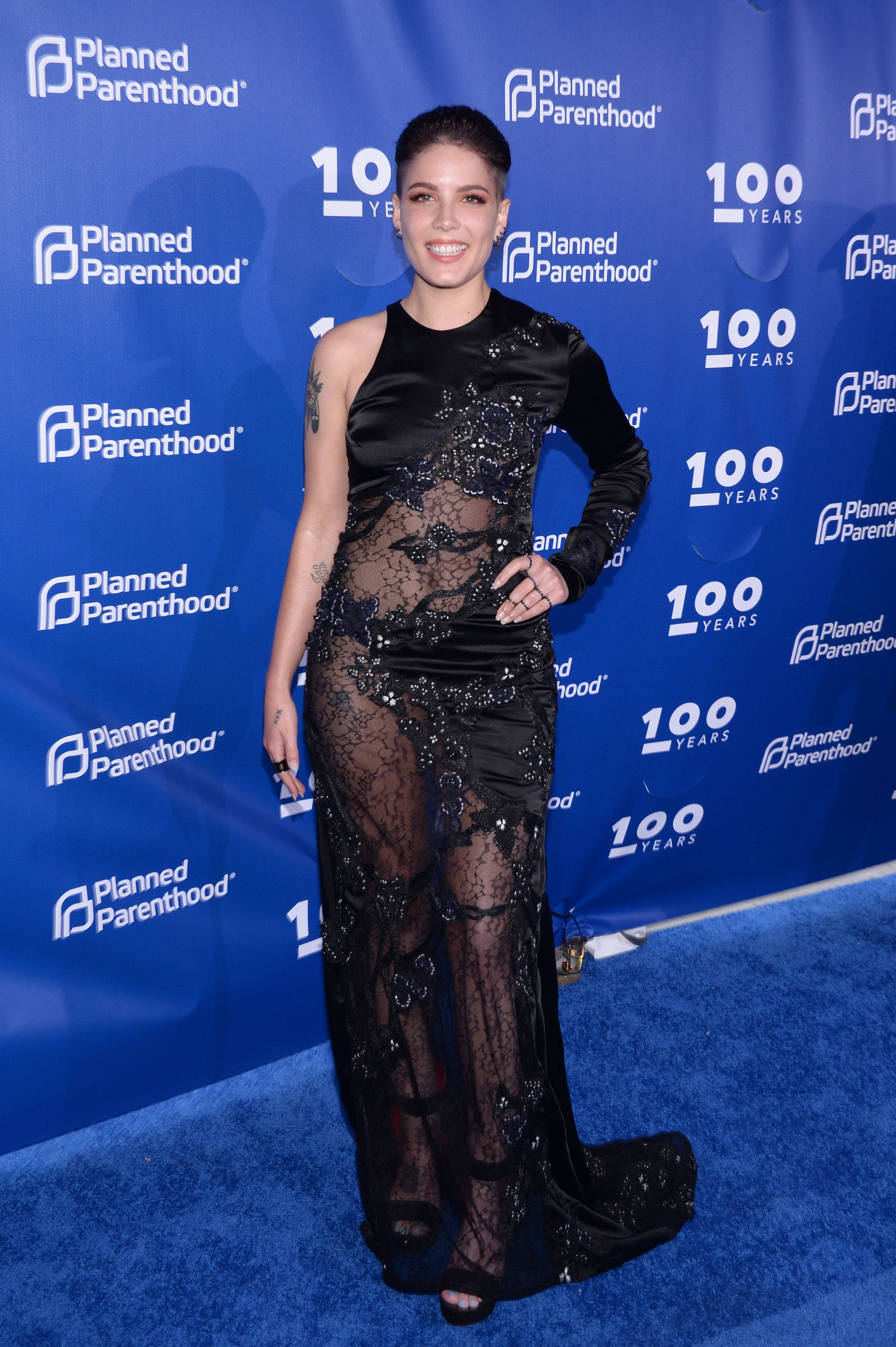 At the Planned Parenthood 100th anniversary gala on May 2 in New York City.