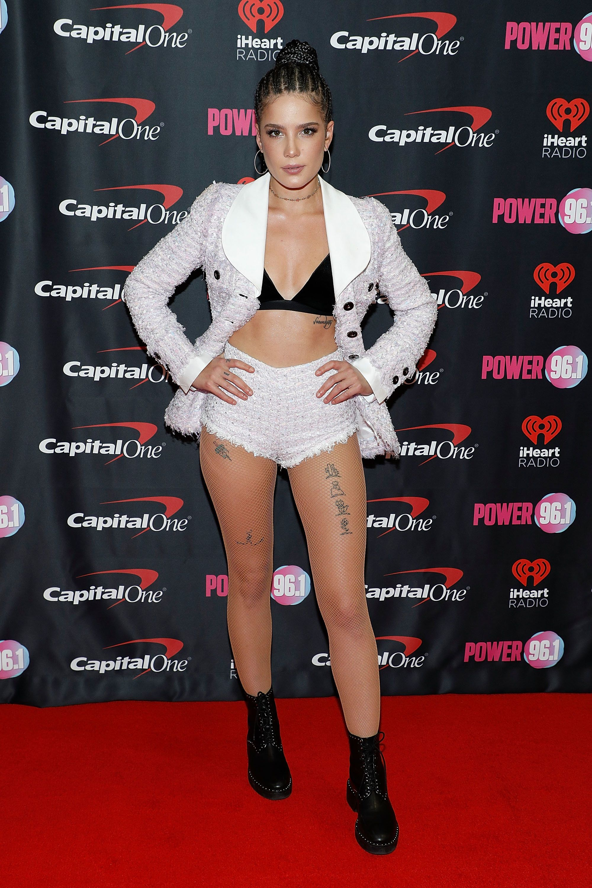 At the Power 96.1 iHeartRadio Jingle Ball on Dec. 15 in Atlanta.
