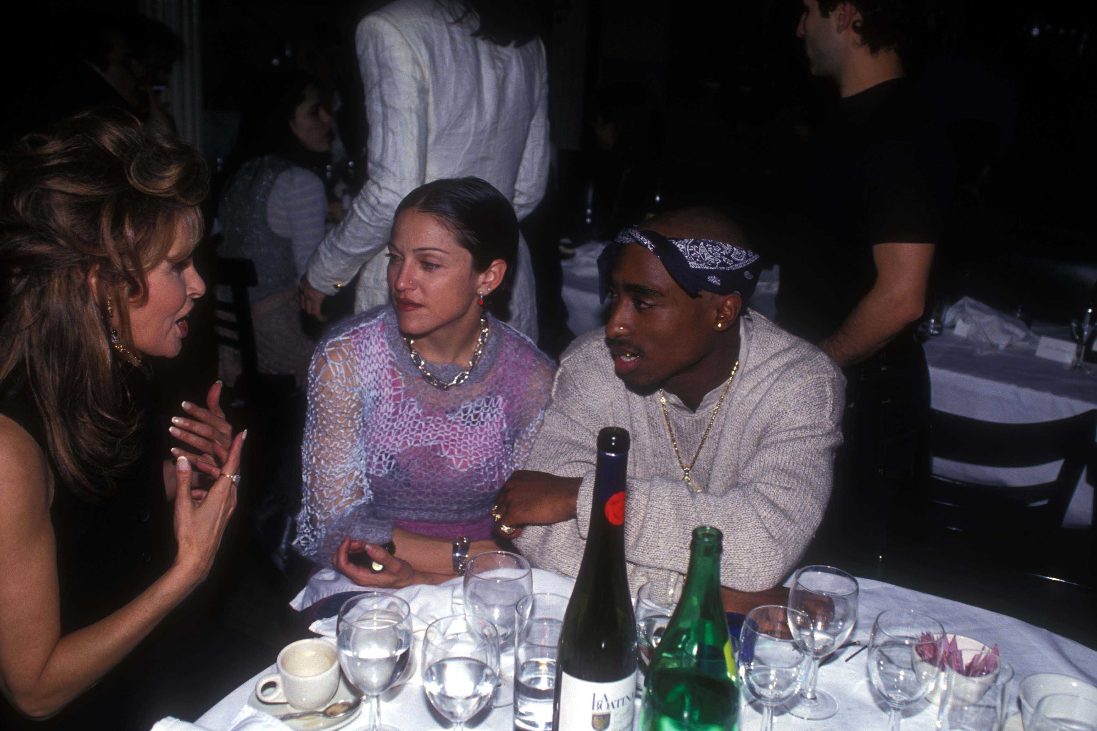 """Among&nbsp;Madonna's many famous boyfriends was the late rapper <a href=""""https://www.newsweek.com/tupac-madonna-letter-dating"""