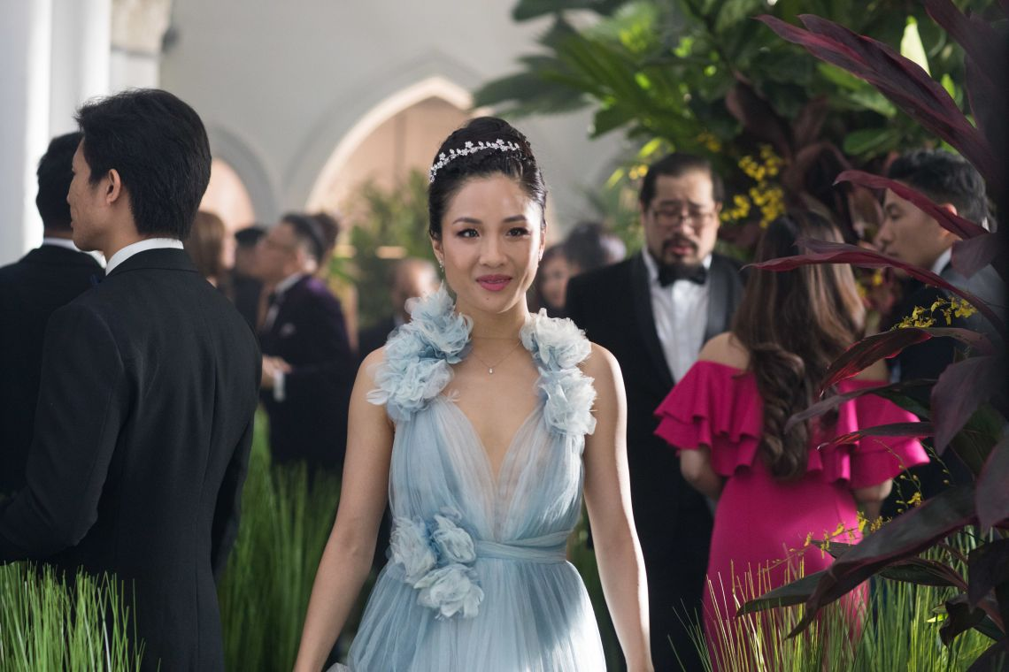 Crazy Rich Asian's was Constance's first movie