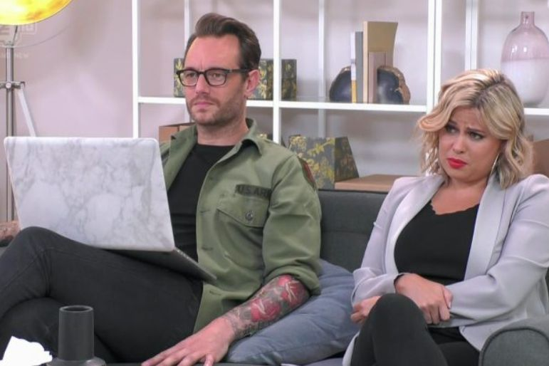 Eden and Nadia in 'Celebs Go Dating'