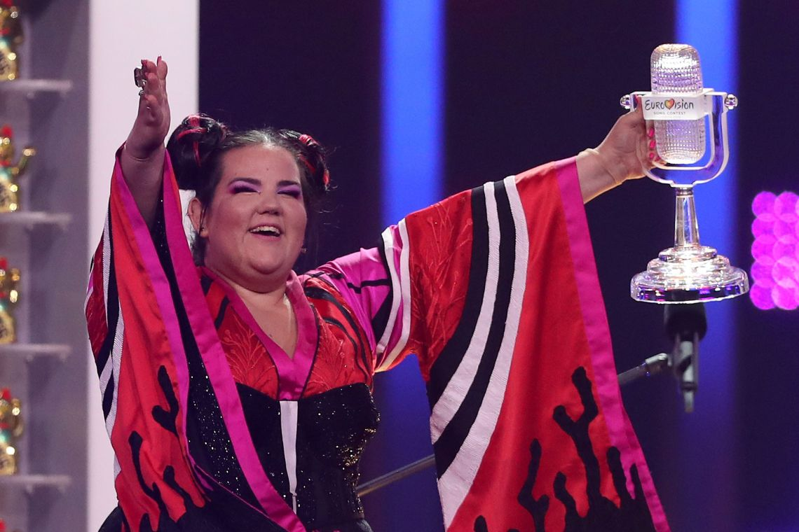 Netta won this year's Euorvision for Israel