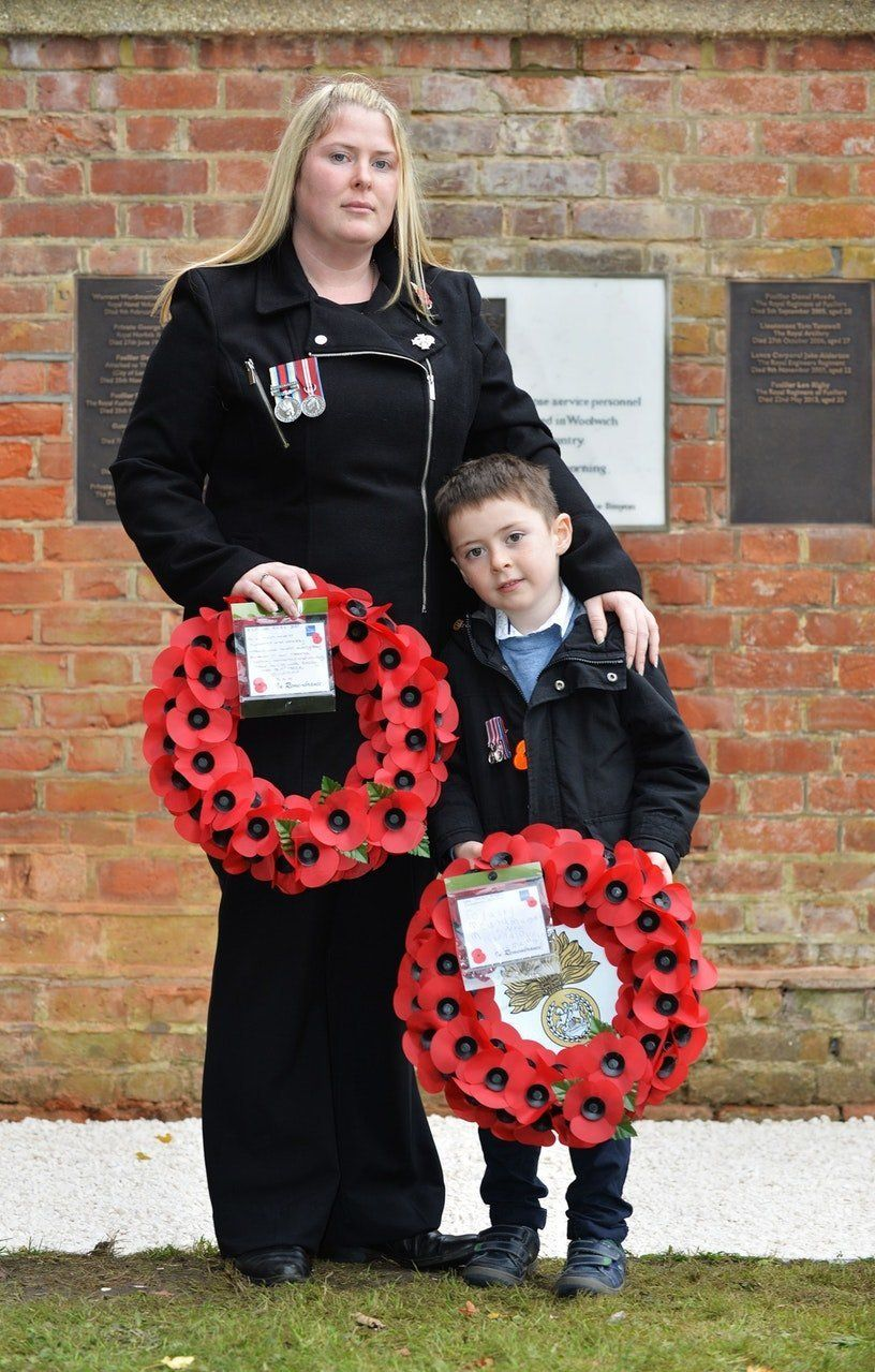 Rebecca Rigby and and son Jack
