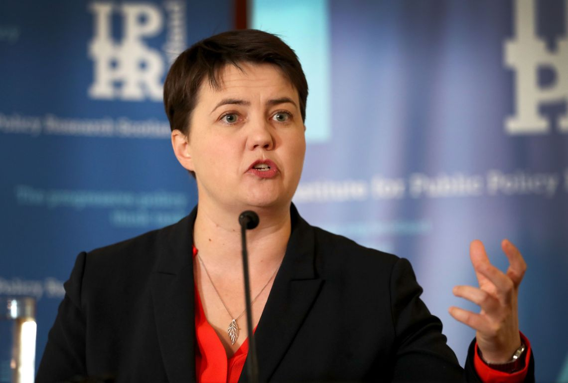 Ruth Davidson Rules Out Tory Top Job For Sake Of Her Mental Health
