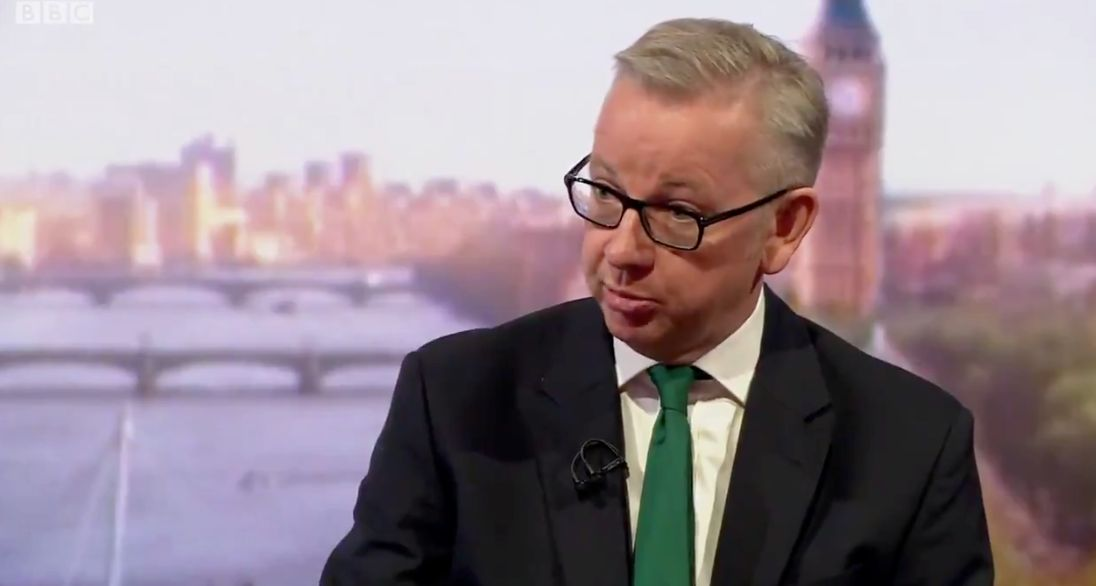 Michael Gove has linked the summer's extreme weather with climate change