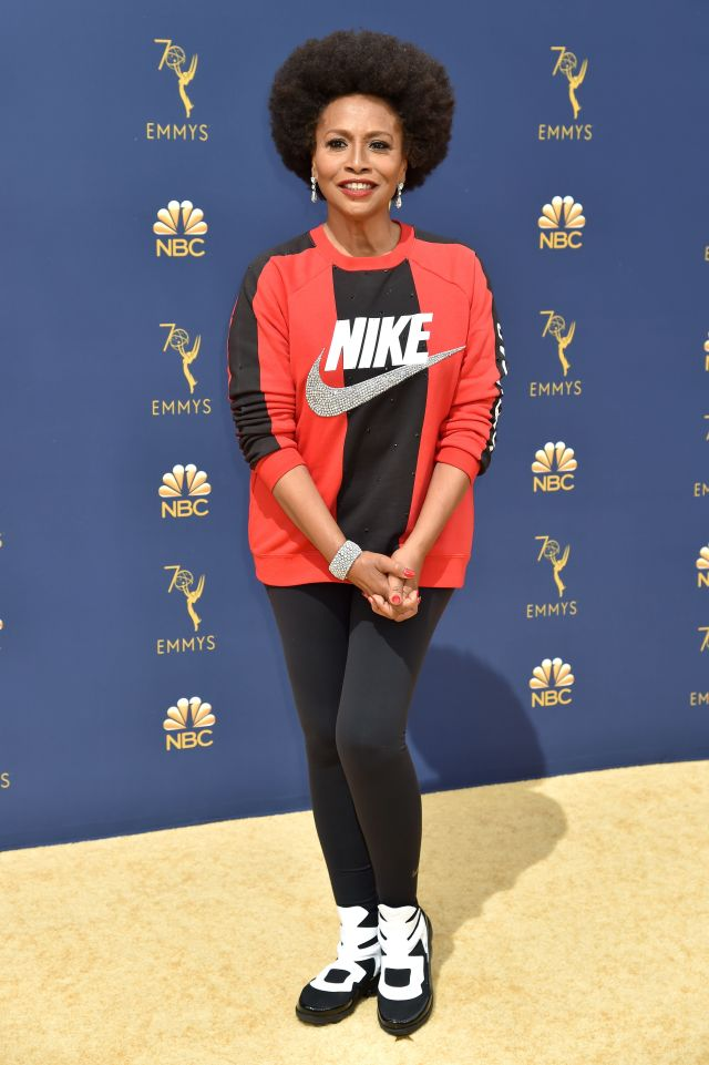 Jennifer Lewis attends the 70th Emmy Awards at Microsoft Theater on September 17, 2018.