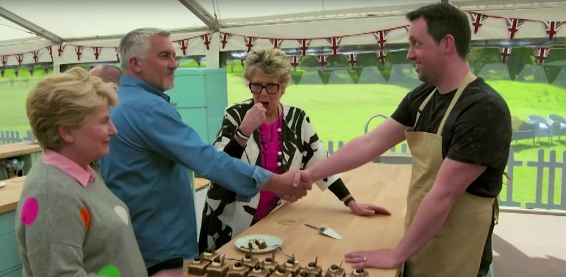 Is Paul Hollywood Giving Out Too Many Handshakes In This Series Of 'Bake Off'?