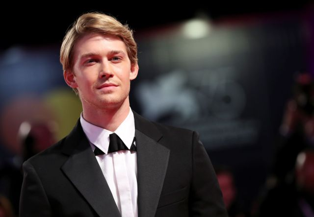 """Joe Alwyn at the premiere of """"The Favourite"""" at the 75th Venice International Film Festival on Aug. 30. Alwyn spoke to Britis"""