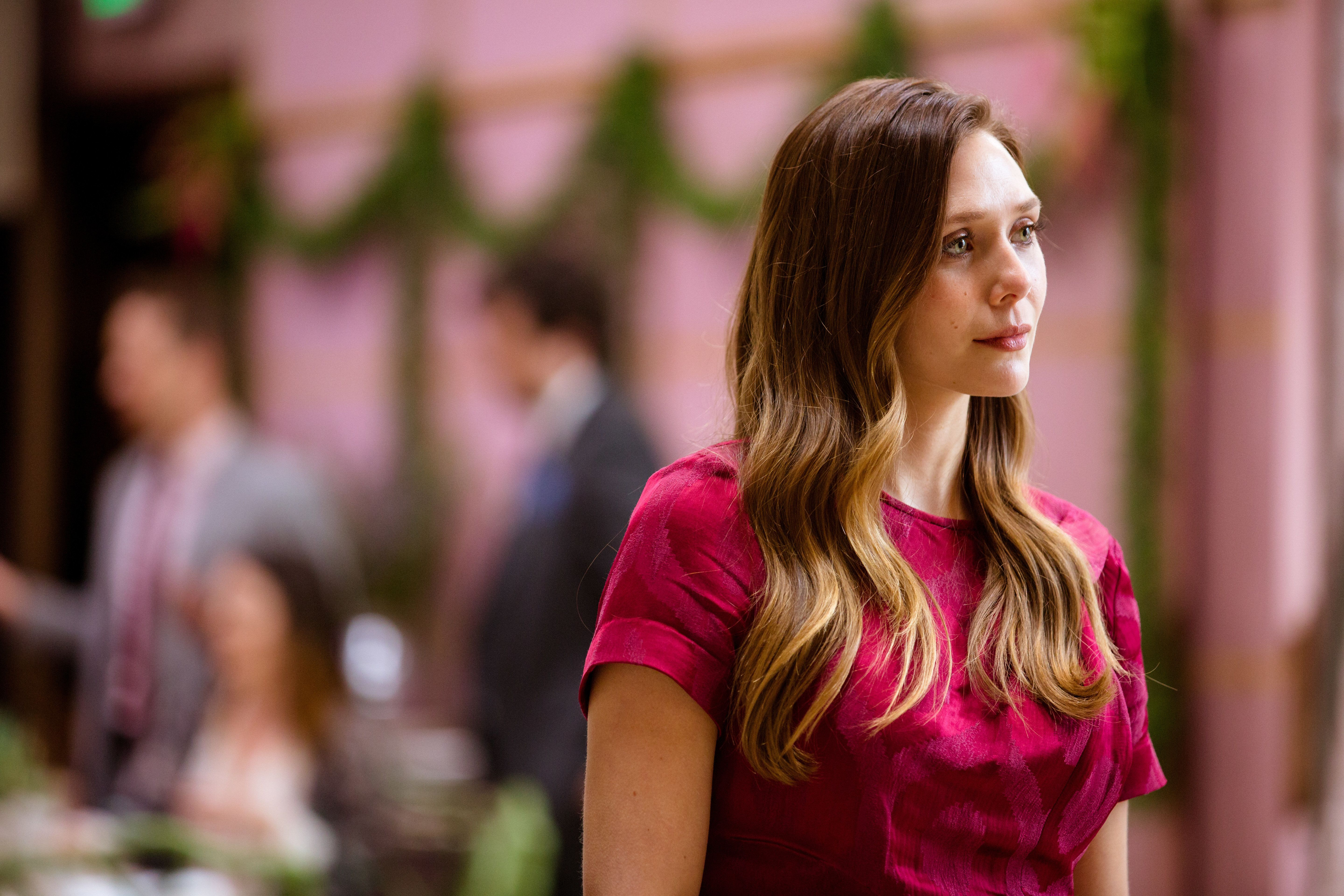 """Elizabeth Olsen stars as Leigh in """"Sorry for Your Loss."""""""