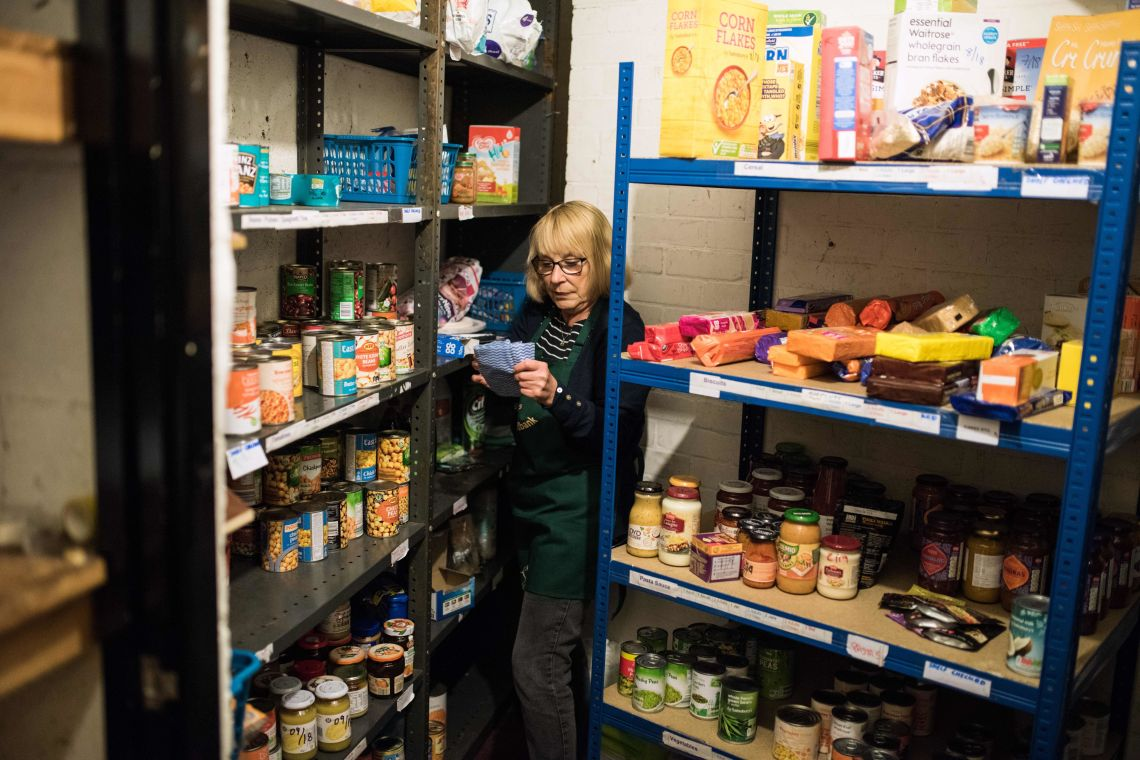 At Our Foodbank, We Are Seeing The Flaws Of Universal Credit