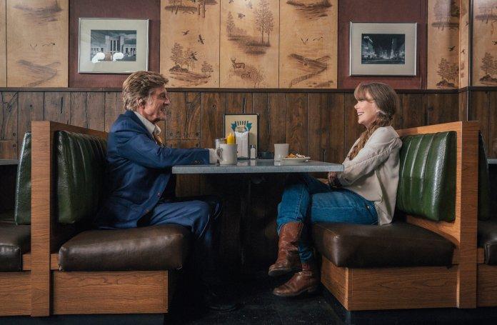 """Robert Redford and Sissy Spacek in """"The Old Man & the Gun."""""""