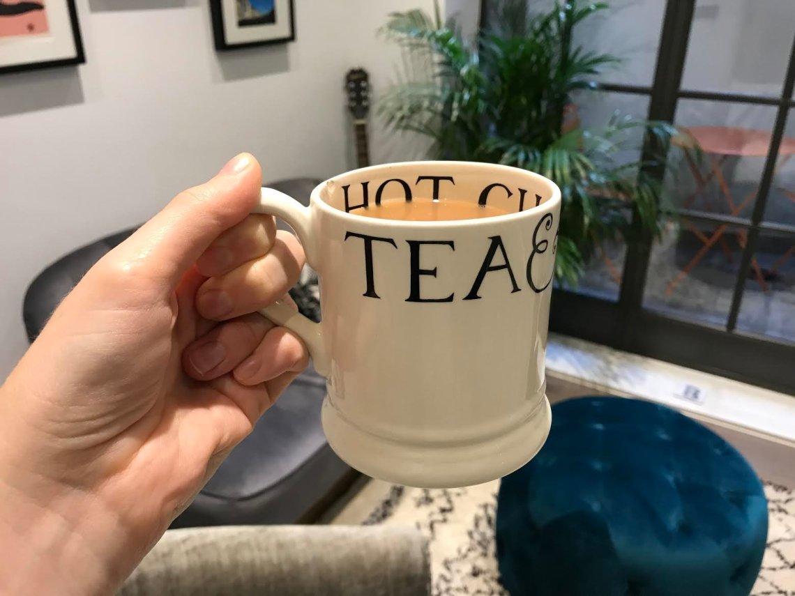 A decaf tea (honestly).