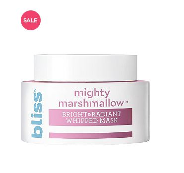 "Normally $15, <a href=""https://www.ulta.com/mighty-marshmallow-mask?productId=xlsImpprod17921140"" target=""_blank"">on sale for"