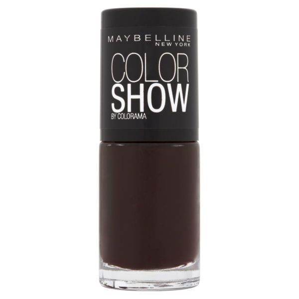 Match your nails to your glass of red this autumn.Maybelline Color Show 357 Burgundy Kiss, Superdrug, £3.99
