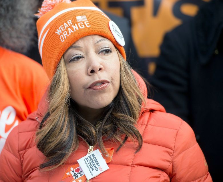 Lucy McBath is a first-time candidate running for Congress in Georgia.