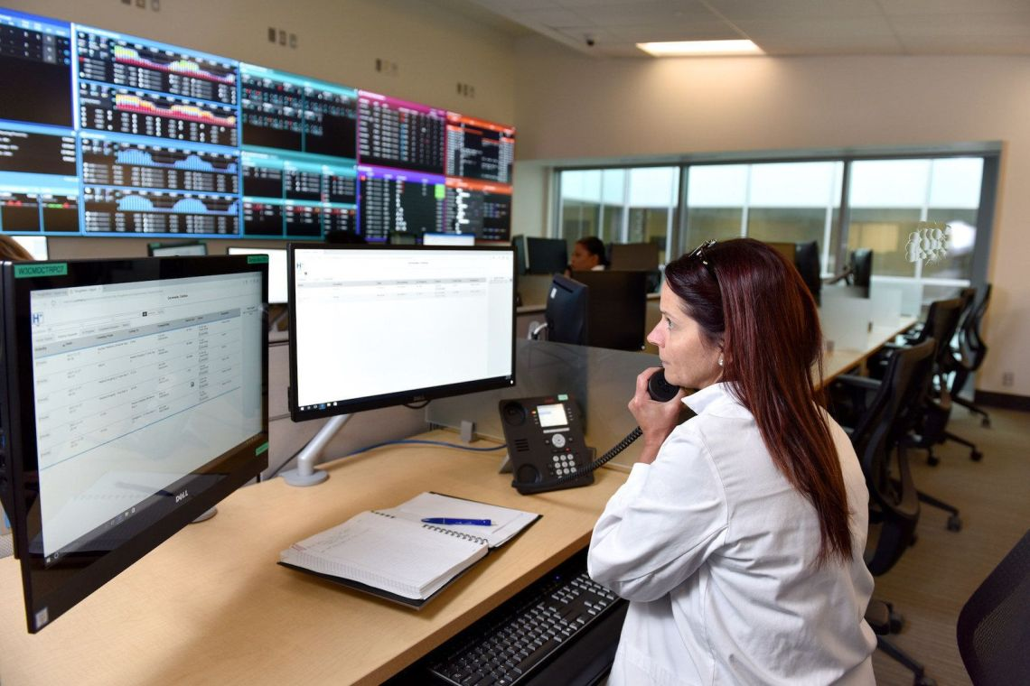 The Command Centre at Humber River Hospital Toronto