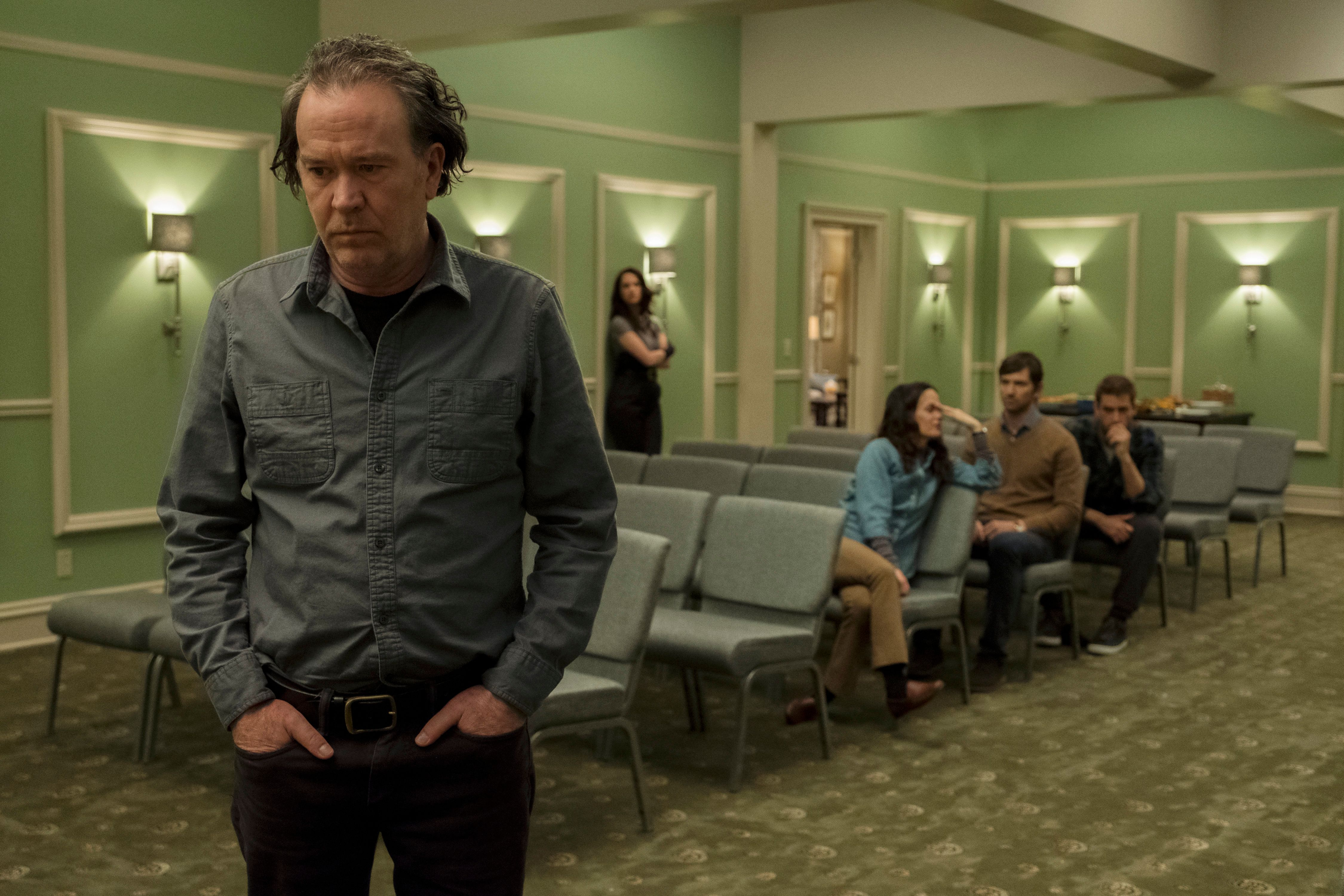 """Timothy Hutton in """"The Haunting of Hill House."""""""