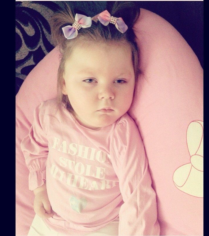 Olivia Heary who has severe epilepsy which is being treated with cannabis oil