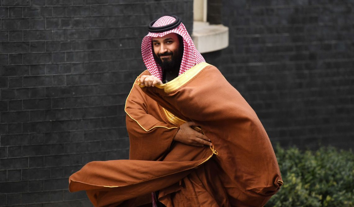 Crown Prince Mohammed bin Salman visited the UK in March.